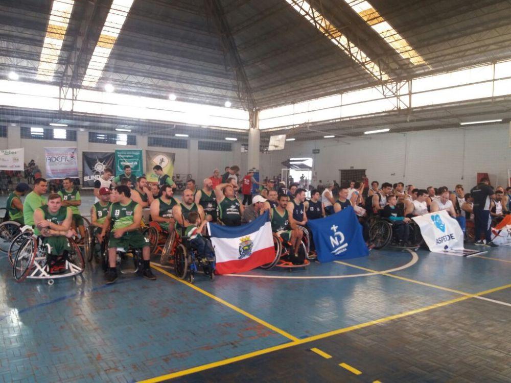 Incentivo da Charrua a esporte de deficientes físicos já mostra resultado
