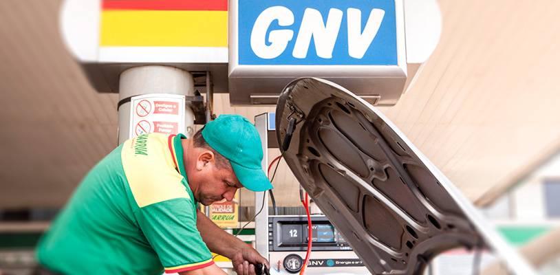 Postos que comercializam GNV