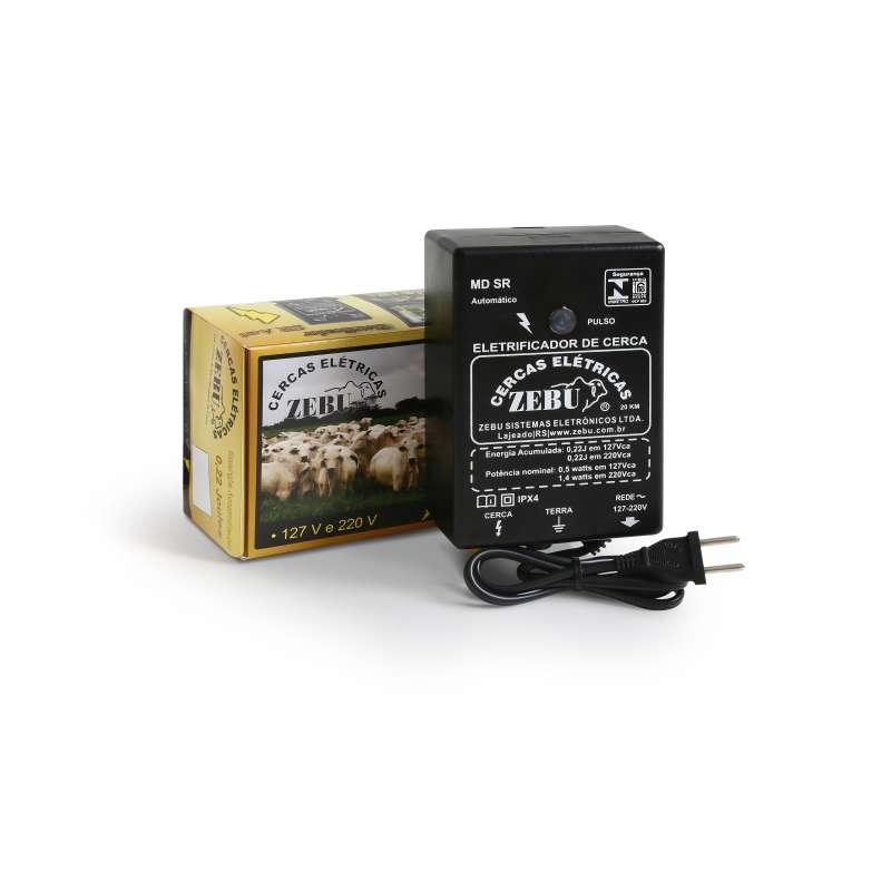 Eletrificador de Cerca de Alto Poder SR Automático