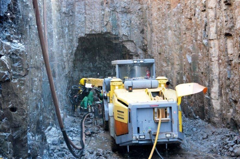 Acesso do início da escavação do túnel parte II