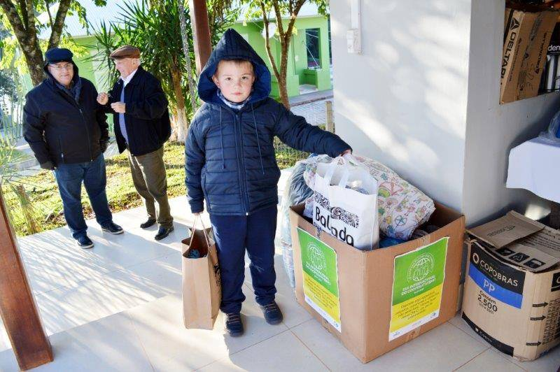 Ceriluz doação participativa desde jovem