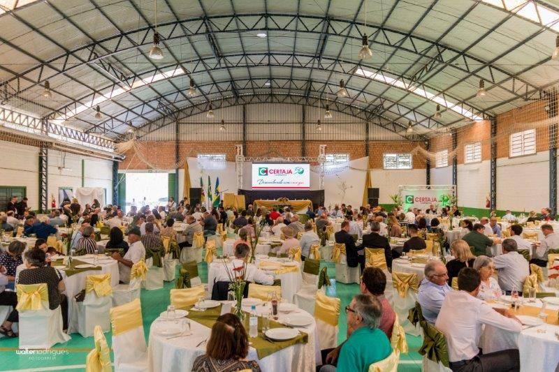 Grande número de associados presentes no evento