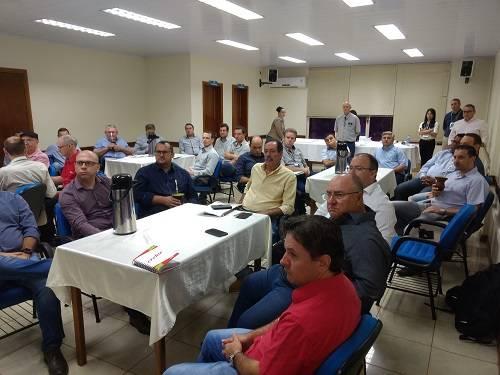 Participantes na reunião de planejamento