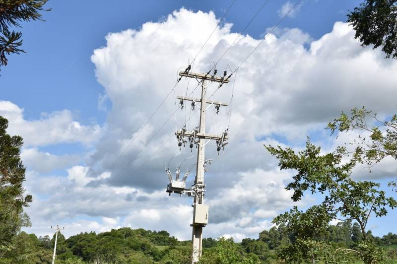 Equipamento telecomandado - religador de rede