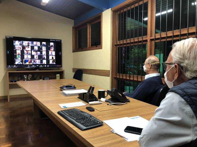 Reunião virtual da Coprel com seus Conselhos