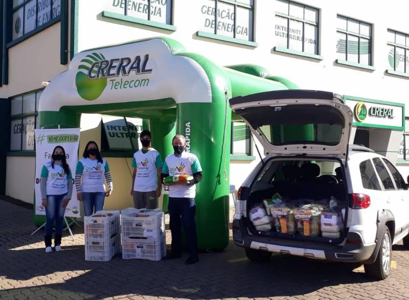 #VemCooperar da Creral arrecada alimentos