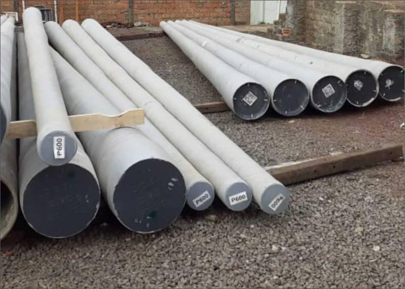 Postes de fibra de vidro para qualificar o atendimento e a manutenção