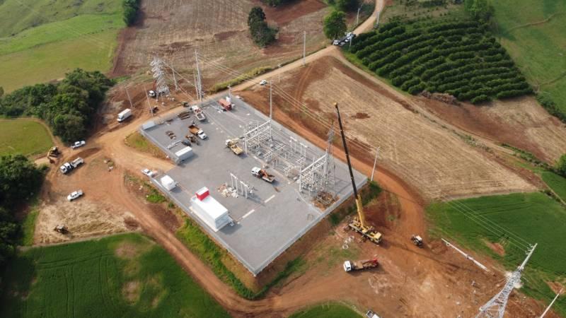 Subestação seccionadora localizada em Maximiliano de Almeida e possui potêncial de ampliação por parte da RGE