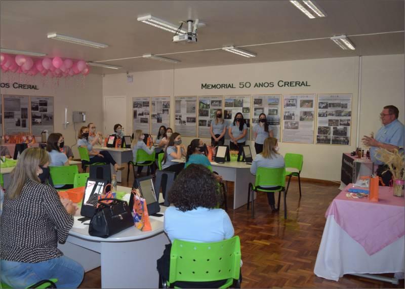 Vice-presidente da Creral, Umberto Toazza fez a abertura do evento e destacou o apoio da cooperativa em ações como essa