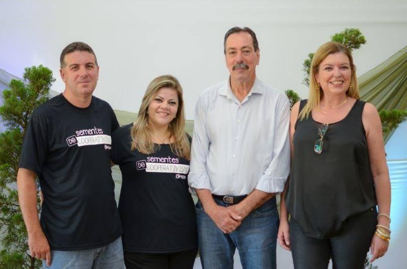 Equipe de comunicação da Certaja, junto com presidente Renato