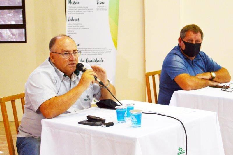 A direção da Ceriluz coordenou as assembleias do Salão de Atos da Cooperativa, anexo à Afucoper, em Ijuí, onde os cuidados relativos à prevenção da COVID-19 foram adotados.