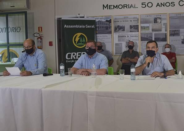 Associados reelegeram o presidente João Alderi do Prado, junto com o vice Umberto Toazza e o secretário Edílson Guzzo