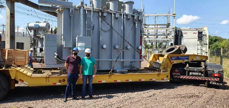 Novo transformador será instalado neste mês