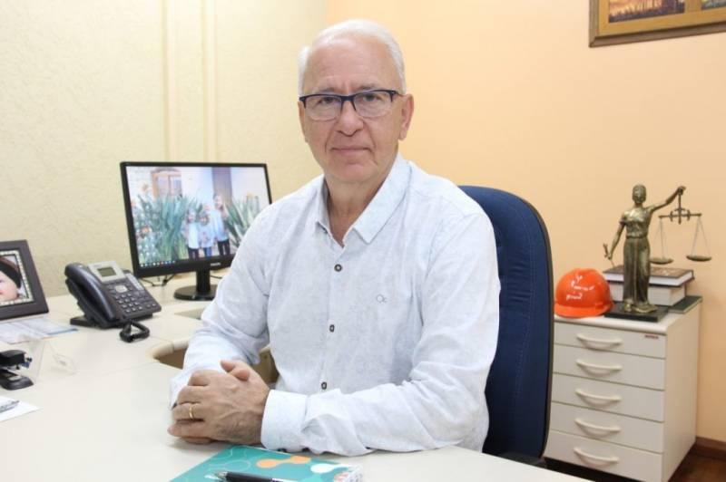 Presidente da Infracoop - Jânio Vital Stefanello