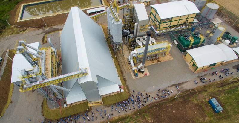 UTE São Sepé – 8MW, primeira termelétrica da Creral inaugurada em 2018