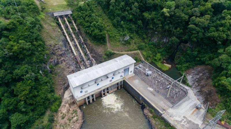 Coprel - Usina PCH Ernesto Jorge Dreher - 17,1 MW - Operando desde 2009 - consórcio BME