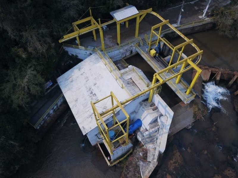 Central Hidrelétrica Geradora - CGH Pinheirinho – Coprel/RS